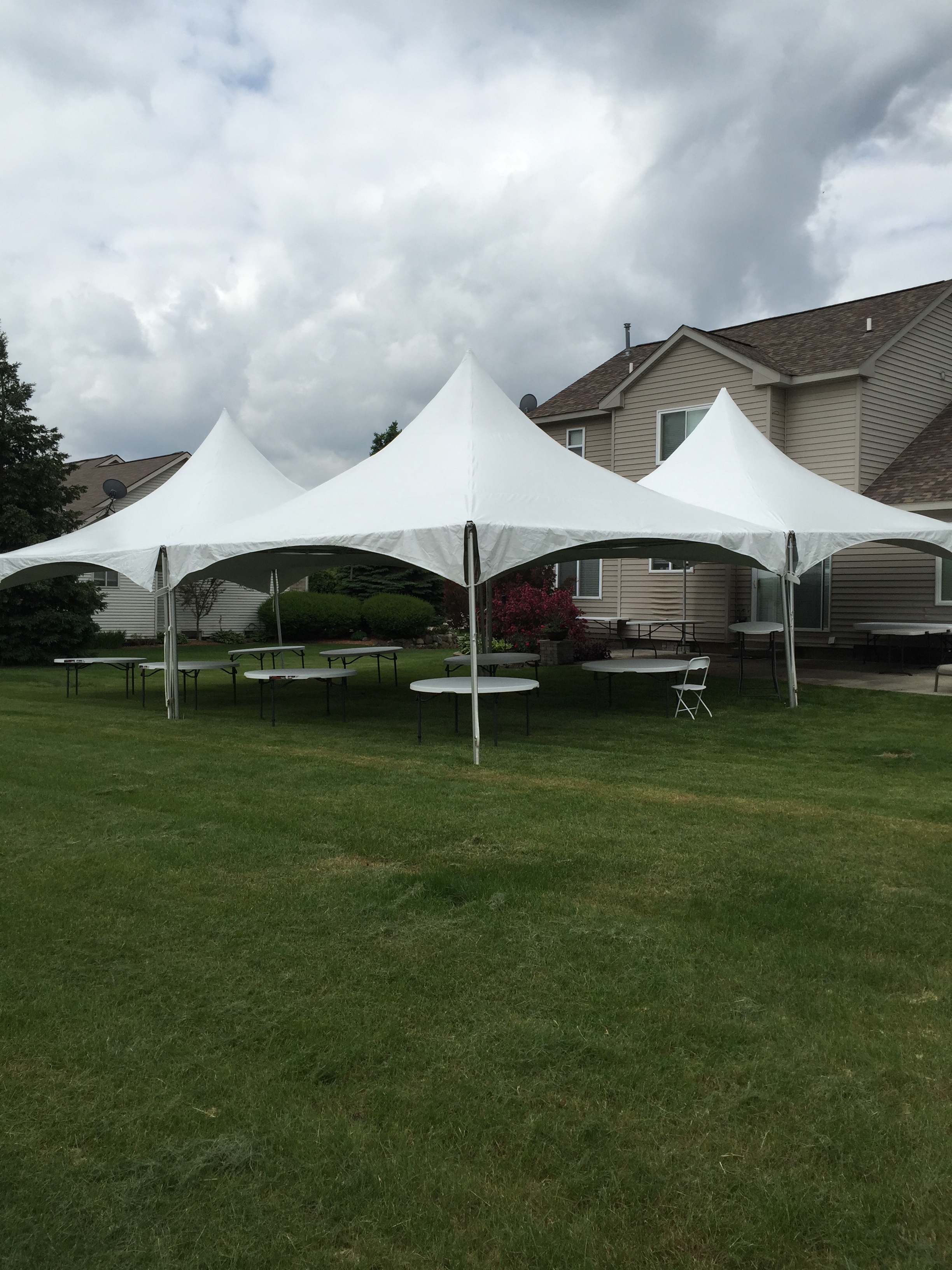 20×60 frame tent & 20x60 frame tent - Rent A Bounce