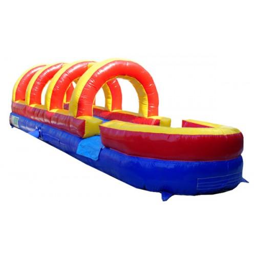Inflatable Water Slide Safety Rules: Rainbow Slip N Slide