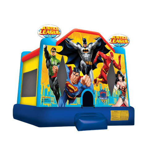Super Hero Bounce House Rent A Bounce