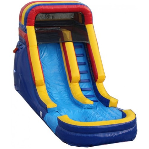 Inflatable Water Slide Az: 18' Rainbow Wet/Dry Slide