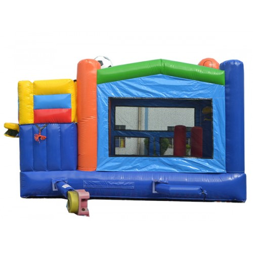 Inflatable Water Slide Safety Rules: Combo Sports Bouncer
